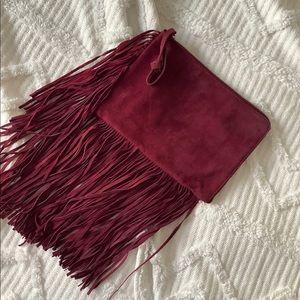 Zara handbag with fringes